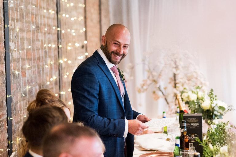 groom's speech at norton fields
