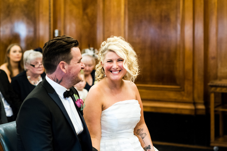 getting married in nottingham council house