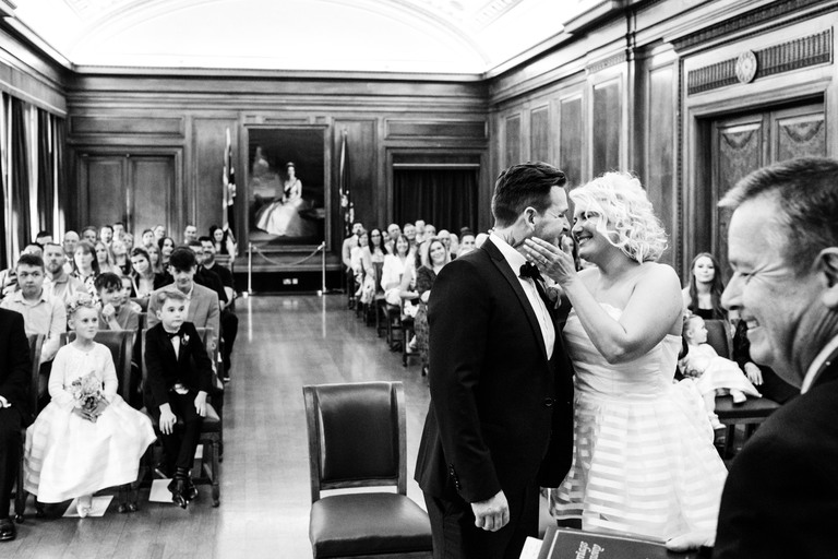 just married at nottingham council house