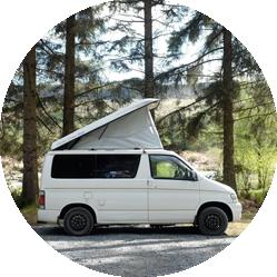 Phyllis the bongo camper van